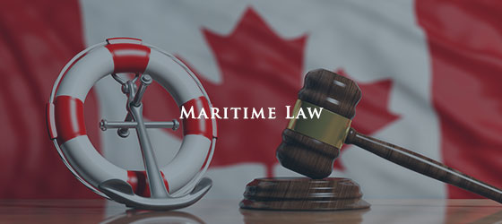 Maritime legal services in Toronto, Mississauga, Brampton, and Vaughan
